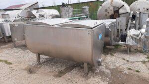 Ванна творожная ВТ-1,25, объем 1250 л, рубашка, термос.